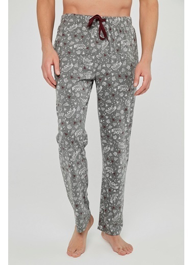 Penti Gift Geometric Pantolon Gri